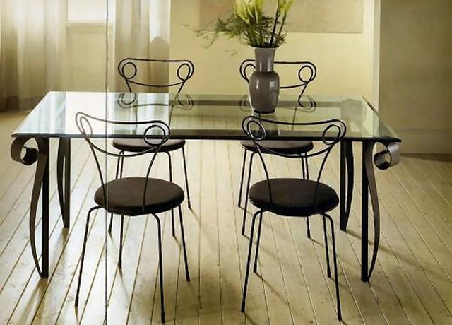 Ferforje masa sandalye ferforje ferforje burada - Tavolo ferro battuto e vetro ...